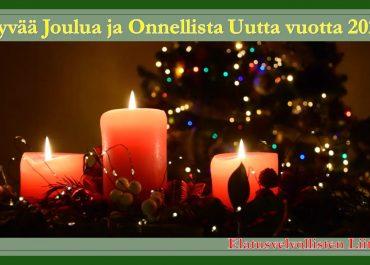 Hyvää Joulua ja Onnellista Uutta Vuotta 2021!